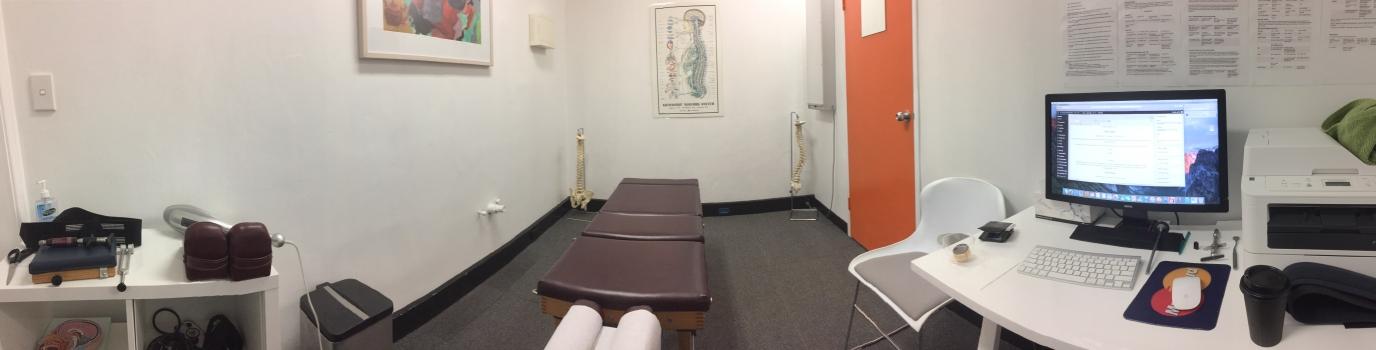 Turramurra Chiropractic Adjustment Room